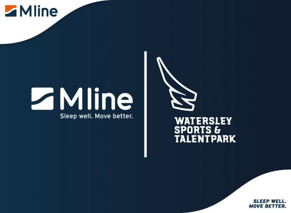 M line Official Sleep Supplier van Watersley Sports & Talentpark